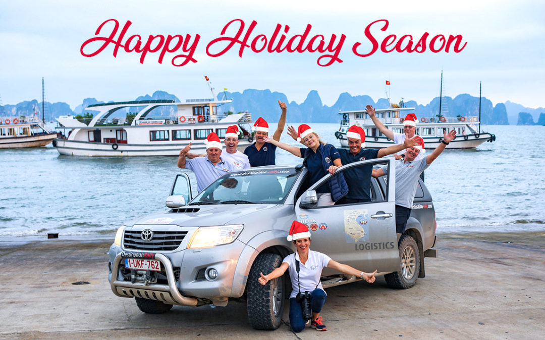 Happy Holidays from the Destination Rally Team!